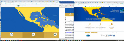Caribbean Marine Atlas: Supporting decision-making in the Caribbean Region