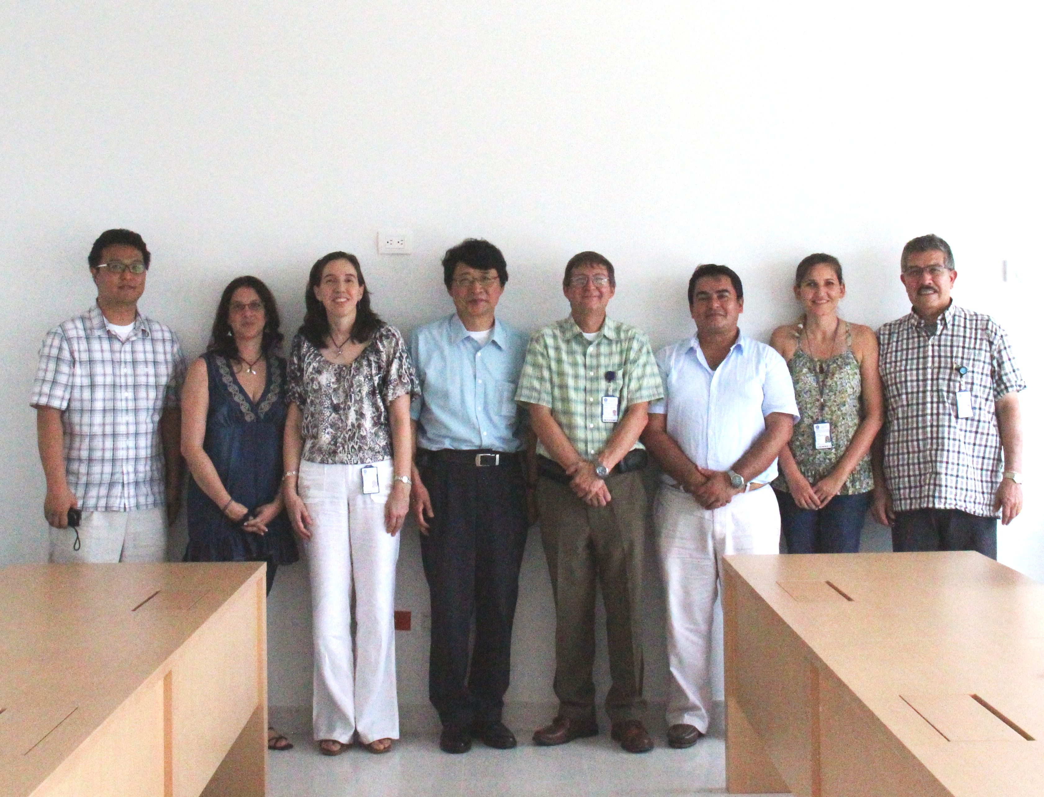 Visita del Korean Institute of Ocean Science and Technology (KIOST)